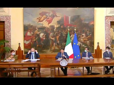 VIDEO: Coronavirus, Giuseppe Conte: Conferenza stampa 13/5/2020