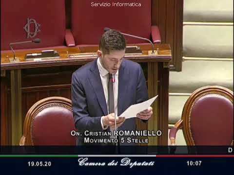 VIDEO: Cristian Romaniello - M5S notizie m5stelle.com