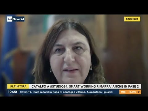 VIDEO: Nunzia Catalfo ospite a Rainews24 – 19/05/2020