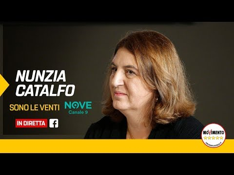 VIDEO: Nunzia Catalfo a Sonoleventi Canale9 19/5/2020