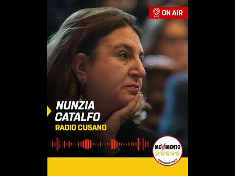 VIDEO: Nunzia Catalfo – Intervista a Radio Cusano – 14/05/2020