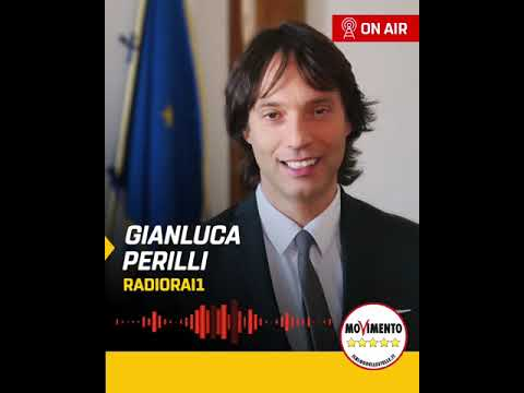 VIDEO: Gianluca Perilli (M5S) ospite a RadioRai1 – 20/05/2020
