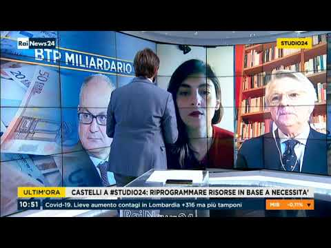 VIDEO: Laura Castelli ospite a RaiNews24 22/05/2020