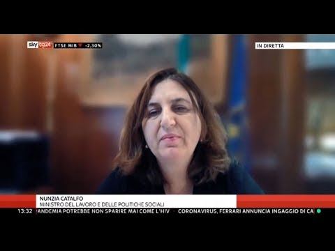 VIDEO: Nunzia Catalfo a SkyTg24 – 14/5/2020