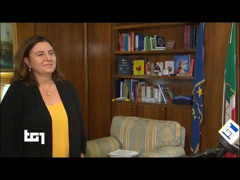 VIDEO: Nunzia Catalfo – Intervista Tg1 – 14/05/2020