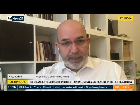 VIDEO: Vito Crimi (M5S) a Rai News24 14/5/2020