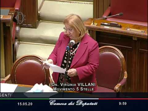 VIDEO: Virginia Villani – interpellanza urgente su concorso scolastico per i DSGA 15-05-2020