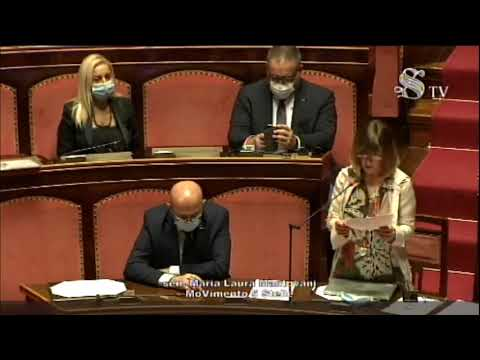 VIDEO: Maria Laura Mantovani – intervento aula Senato 18/6/2020