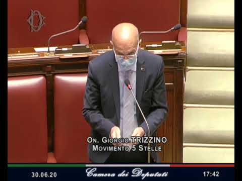 VIDEO: Giorgio Trizzino – Intervento di fine seduta 30/06/20