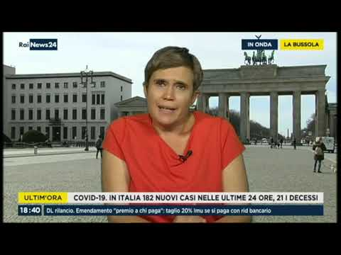 VIDEO: Laura Agea ospire a La Bussola su RaiNews24 il 01/07/2020