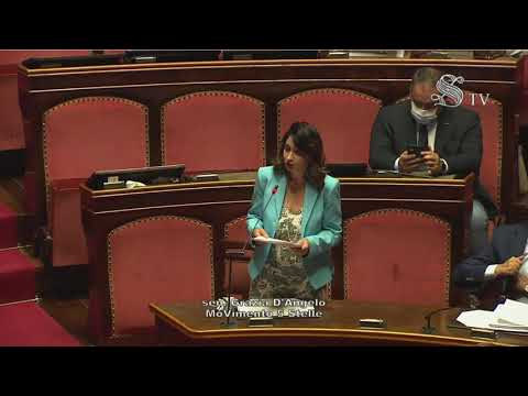 VIDEO: Grazia D'Angelo (M5S) – Intervento di fine seduta  – 14/07/2020