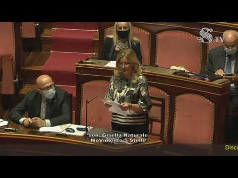 VIDEO: Gisella Naturale intervento Aula Senato – 23 Settembre 2020