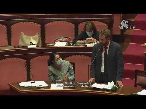 VIDEO: Mattia Crucioli (M5S) – Intervento in aula Senato – 7/10/2020