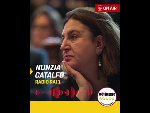 VIDEO: Nunzia Catalfo Ministro del Lavoro a Radio 1 – 8/10/2020