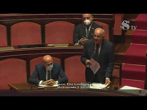 VIDEO: Elio Lannutti (M5S) Intervento aula Senato – 14/10/2020