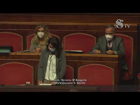 VIDEO: Grazia D'Angelo (M5S) Intervento aula Senato – 11/11/2020