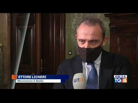 VIDEO: Ettore Licheri (M5S) Intervista Tg5 – 31/12/2020