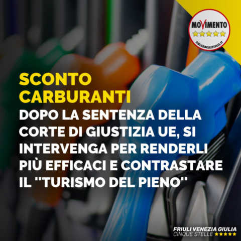 Sconti carburanti, intervenire per renderli più efficaci