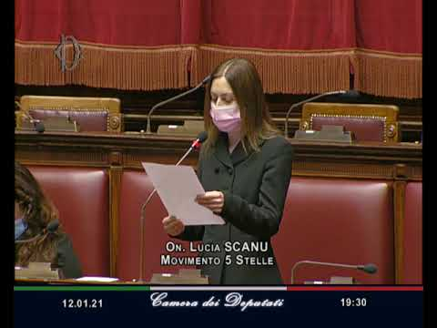 VIDEO: Lucia Scanu intervento Aula 12/01/2021