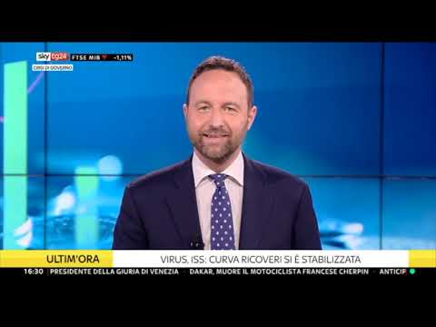 VIDEO: Giancarlo Cancelleri ospite a SkyTG24 15/01/2021