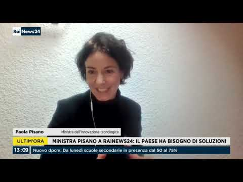 VIDEO: Paola Pisano ospite a RaiNews24 17/01/2021