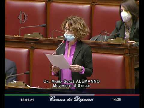 VIDEO: Maria Soave Alemanno intervento Aula 18/01/2021