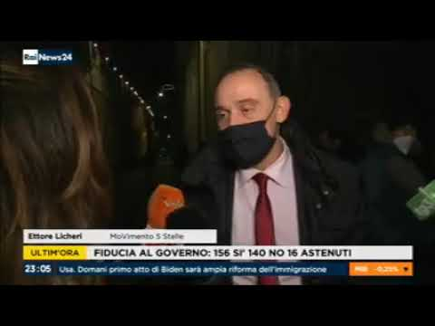 VIDEO: Ettore Licheri (M5S) a Rainews24 – 19/1/2021