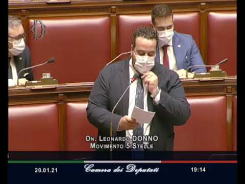 VIDEO: Leonardo Donno Intervento Aula 20/01/21