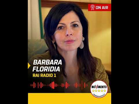 VIDEO: Barbara Floridia ospite a Zapping - RaiRadio1 - 29/03/2021