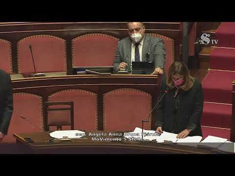 VIDEO: Angela Bruna Piarulli (M5S) Intervento aula Senato - 30/3/2021