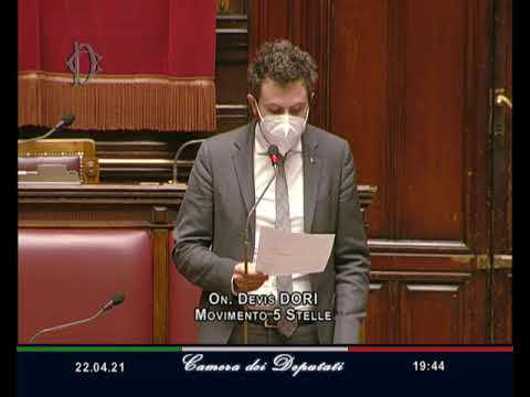 VIDEO: Devis Dori intervento di fine seduta 22/04/2021