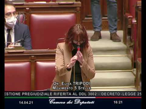 VIDEO: Enrica Segneri intervento di fine seduta 31/03/2021