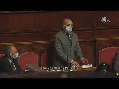 VIDEO: Sergio Vaccaro (M5S) - Intervento aula Senato - 2/11/2020